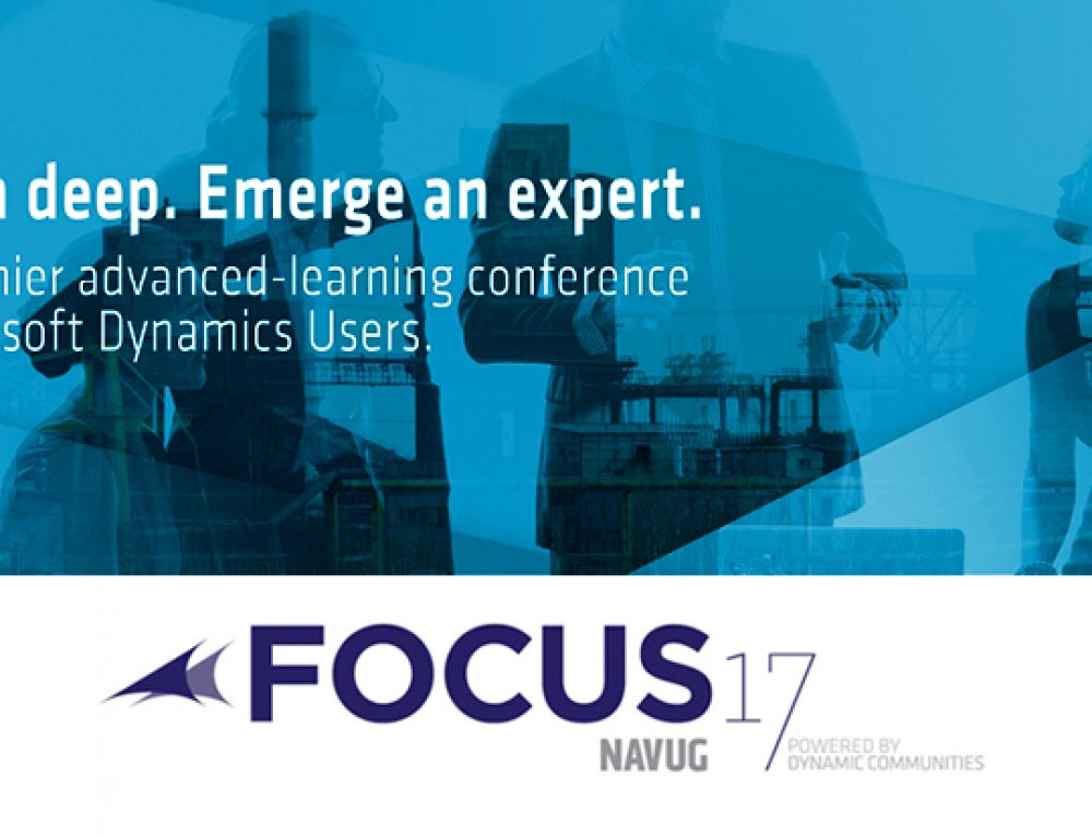 ChargeLogic is a Proud Sponsor of NAVUG Focus 2017